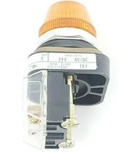 ALLEN BRADLEY 800T-Q24 PILOT LIGHT SER. T 24V, AMBER 800TQ24 image 2
