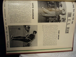 1951 Ryder Cup Pinehurst Program and Book of Golf by the PGA of America HC image 5