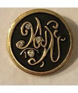 Weight Watchers Vintage Reward Pin Badge 4 Rhinestones and Original Box - $23.99