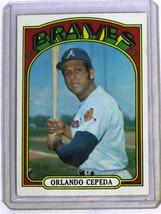 1972 Topps Baseball Card #195 Orlando Cepada Braves - $4.00