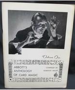Magic: Abbott's Anthology of Card Magic by Miller Gordon - $78.59