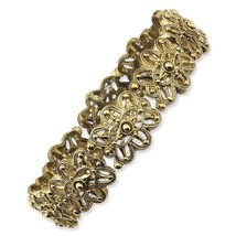 Ladies Brass Tone 1928 Boutique Stretch Bracelet - $25.92