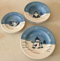 Lot of Cambridge Potteries Hidden Valley Hand Painted Replacement Plates... - $30.46