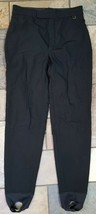 Woman's Roffe Black Ski Pants Size 6, professionally altered, (w10) - $19.79