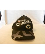 Green Bay Packers Super Bowl XLV Champions Logo Hat Black - $29.70