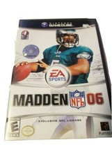 Madden NFL 06 Nintendo GameCube, 2005 Complete With Case and Manual.  - $8.90
