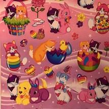Vintage Lisa Frank Easter Sticker Sheets (2) Sealed In Original Package RARE HTF image 2