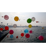 Balloons on the Bosphorus 11x14 matted print - $20.00