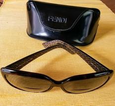 Fendi FS 347 214 Tortoiseshell Sunglasses Includes Case - Has Prescription  - $88.99