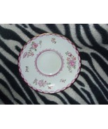 Crown Staffordshire Pink Roses Saucer (Fine Bone China)  - $6.00