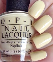OPI Soft Shades Pastel ONE CHIC CHICK Light YELLOW Creme Nail Polish Lac... - $7.42