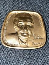 Golda Meir (1898-1978) Magnes Museum Jewish-American Hall of Fame Bronze... - $46.74