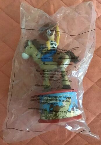 Disney Toy Story 2 Woodys Roundup 1999 McDonalds Bullseye horse candy dispenser