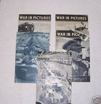 War in pictures 5 Issues - $26.41
