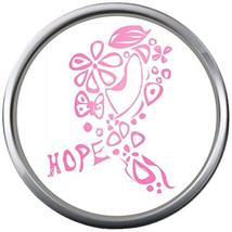 Cool Art Hope Save The Tatas Boobie Pink Breast Cancer Ribbon 18-20MM Sn... - $5.95