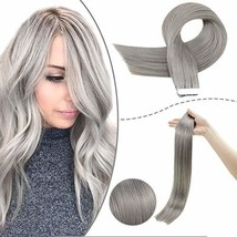 RUNATURE Remy Tape Hair Extension Tape Remy Hair Extensions Human Hair 22 Inches