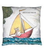 Throw Pillows New Authentic Where The Wild Things Are Max's Boat Throw P... - $26.69+