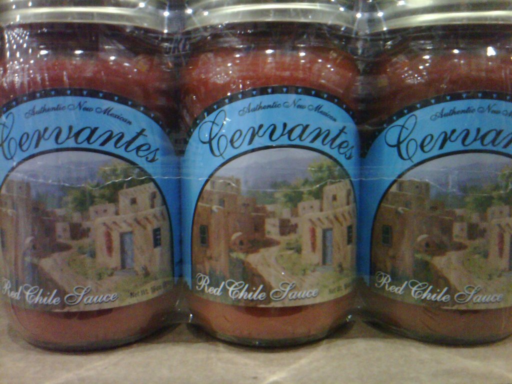 Cenvantes Red & Green Chili New Mexico - NEW - Chili Sauce,Hot sauce,Green Chili