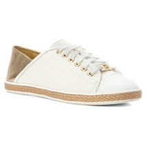 Michael Kors MK Women's Premium Kristy Slide Fashion Sneakers Shoes Pale Gold