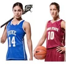 NIKE Authentic Women's College TWO Jerseys Iowa State & Duke M Basketball NWT - $148.50