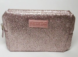 Benefit PINK Sparkle Glittery Makeup Cosmetic Bag New - $18.00