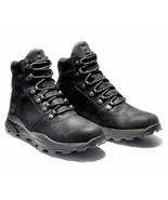 Mens Timberland Brooklyn Waterproof Mid Hiker - Black Nubuck, Size 9.5 M US - $159.99