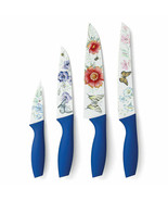 Lenox Stainless Steel Butterfly Meadow Set Of 4 Printed Knives New In Box - $43.00