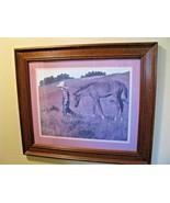 "Jim Daly 1979 Heading Home Wood Framed Art Print Framed Size 20.5"" X 17.5"" - $26.68"