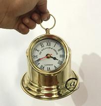 Christmas Sir Williams Smith Christmas Theme Clocks Brass Binnacle Head Compass - $36.96