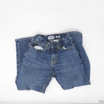 Oshkosh B'gosh Youth Boys Adjustable Waist Loose Fit Straight Leg Jeans Sz 6 image 2