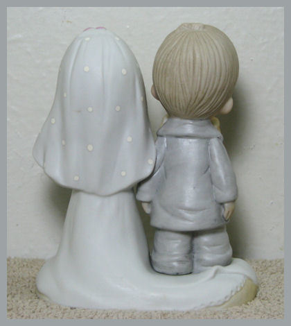 Precious Moments 1979 Figurine Wedding Lord Bless You