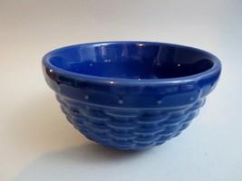 "NEW Longaberger Pottery 5"" Woven Reflections Ceramic Sm Bowl Cornflower ... - $13.29"