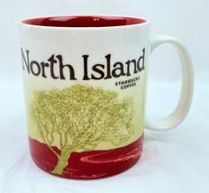 Rare Starbucks Coffee Mug Cup North Island 2009 Collector Series Made Ch... - $499.99
