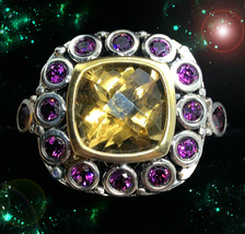 HAUNTED RING ALEXANDRIAS GOLDEN TOWERS OF WEALTH HIGHEST LIGHT COLLECTION MAGICK - $10,437.77