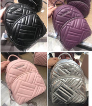 b12802450036 MICHAEL KORS ABBEY MEDIUM BACKPACK quilted LEATHER various colors NWT -   147.00+