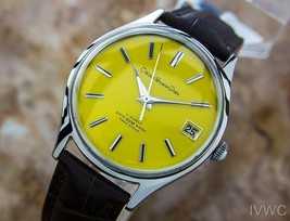 Citizen Homer Date Japanese Collectible Men's Vintage Dress Watch c1960s... - $654.69
