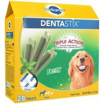 Pedigree DENTASTIX Fresh Large Treats for Dogs - 1.52 Pounds 28 Treats - $22.90