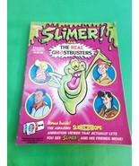 Slimer Real Ghostbusters Sticker Album Diamond 1988 89 Stickers on Pages QB - $26.95