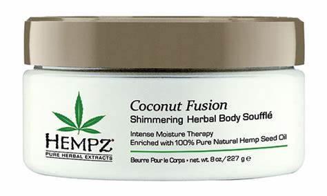 Hempz Coconut Fusion Body Souffle  8oz