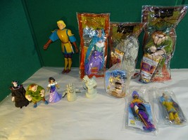 Burger King Kids Toys Disney Hunchback Notre Dame Esmeralda Phoebus Quasimodo - $24.74