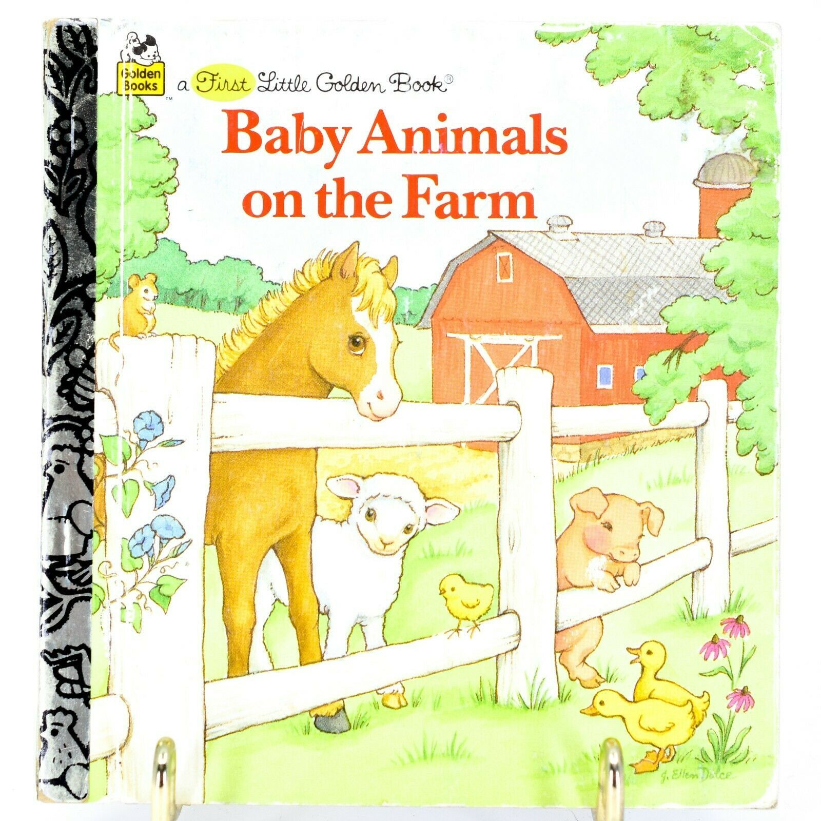 A First Little Golden Book Baby Animals on the Farm 1996