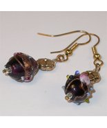 Earrings - Hand made dangle lampwork earring from Javaher - $0.00