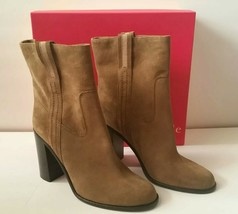 NWB Kate Spade New York Baise Boots Bootie Tobacco/Sport Suede Women's 1... - $127.71