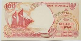 Bank Indonesia 1992 Notes 100 Seratus Rupiah  uncirculated - $1.95