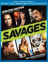 Savages (Blu Ray/DVD Combo W/Digital Copy)