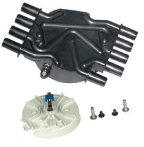 A-Team Performance D328A Distributor Cap Crab Style Compatible with Chevy Chevro image 2