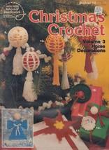 American School of Needlework Christmas Crochet Pattern Leaflet #12, 1979 - $3.60