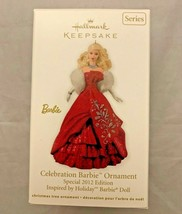 Hallmark Keepsake Ornament Celebration Barbie Special 2012 Edition Holiday Xmas - $11.61