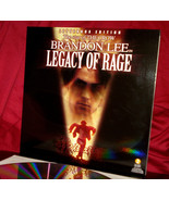 Really Rare - Brandon LEE in 'LEGACY OF RAGE' on WS Digital Laser Disc, ... - $64.95