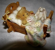 Cherished Teddies – Cradled With Love Baby Bear Figurine #911356 – 1992 - $8.42